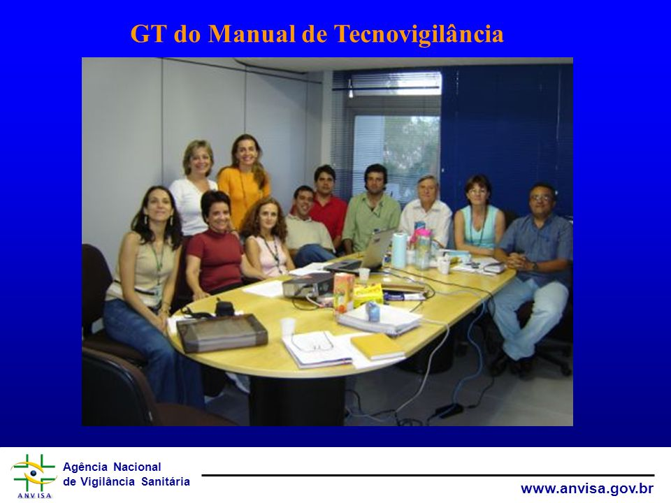 GT do Manual de Tecnovigilância
