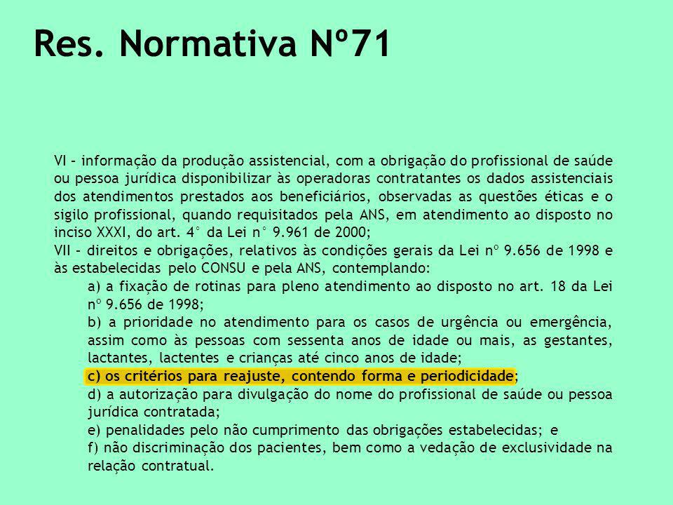 Res. Normativa Nº71