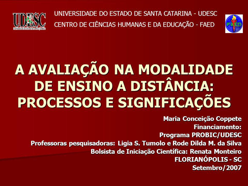 UNIVERSIDADE DO ESTADO DE SANTA CATARINA - UDESC
