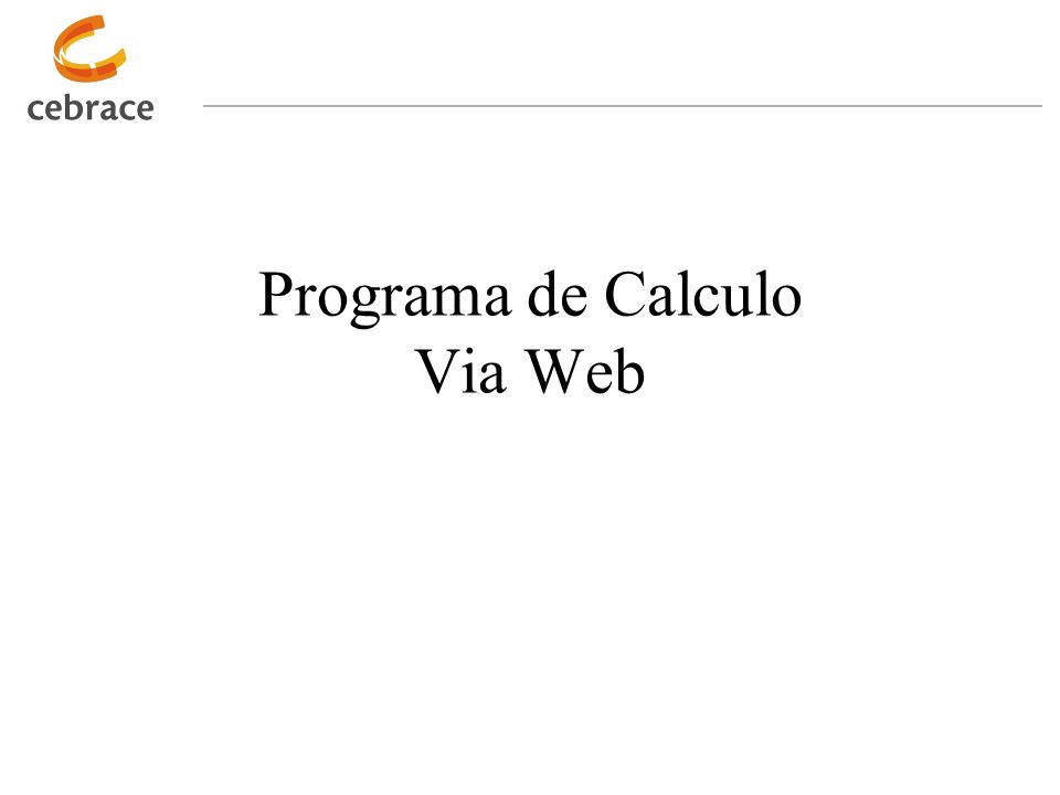 Programa de Calculo Via Web