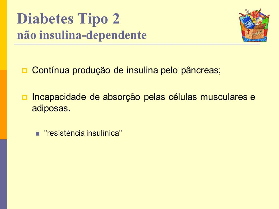 Diabetes Tipo 2 não insulina-dependente