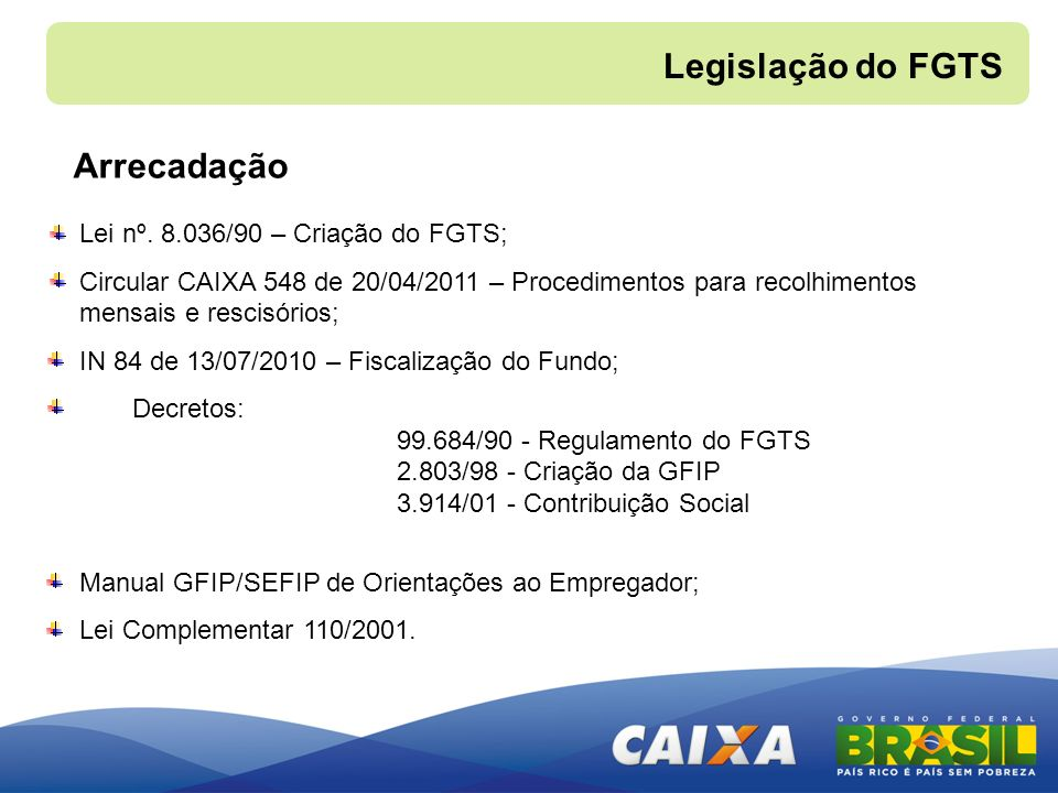 manual do fgts 2011