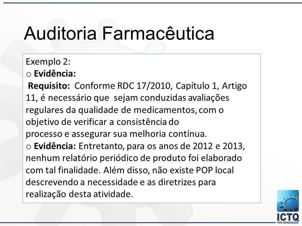 Auditoria Farmacêutica Módulo 2 Ppt Carregar