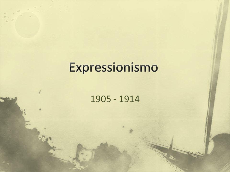 O que é o expressionismo