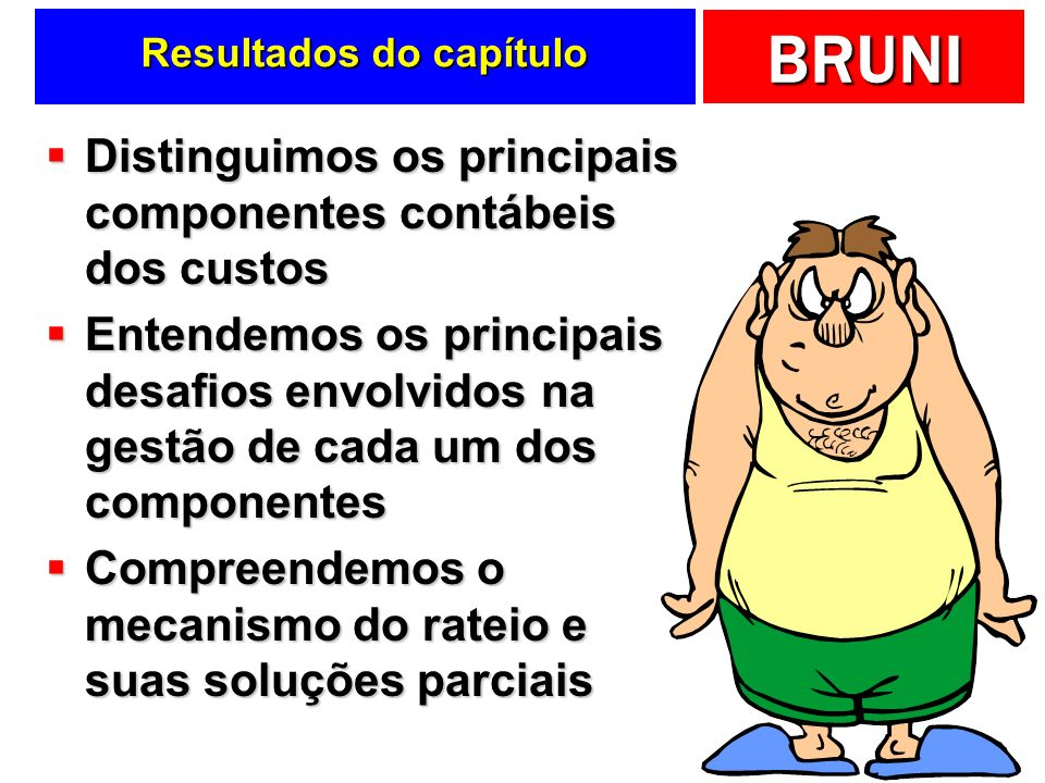 Resultados do capítulo