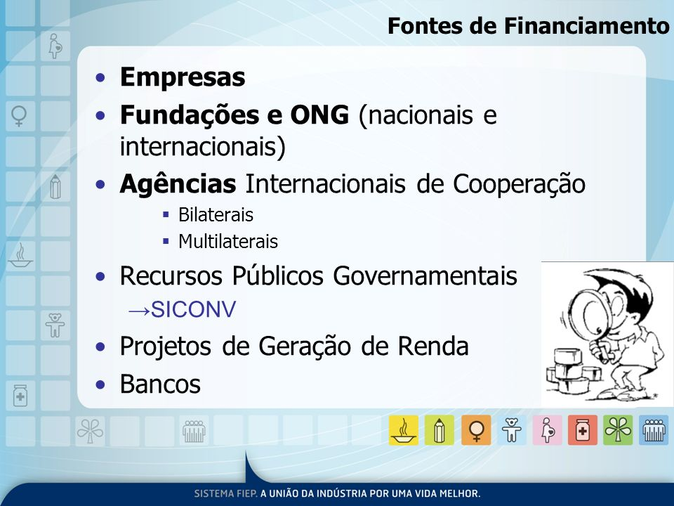 Fontes de Financiamento