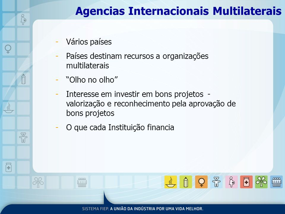 Agencias Internacionais Multilaterais