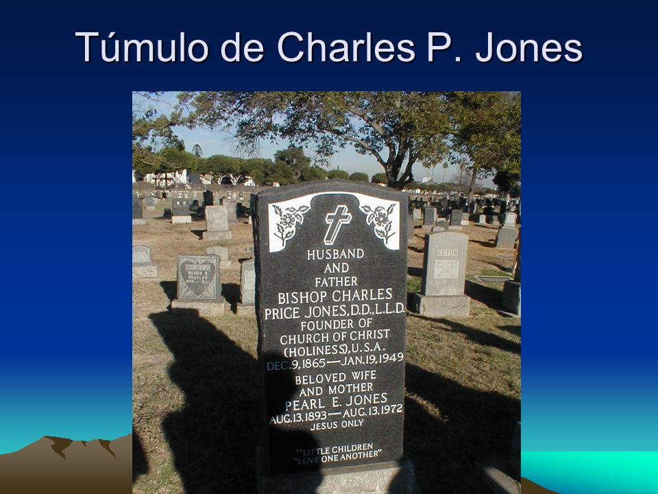 Túmulo de Charles P. Jones