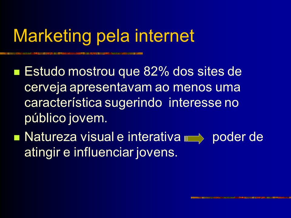 Marketing pela internet