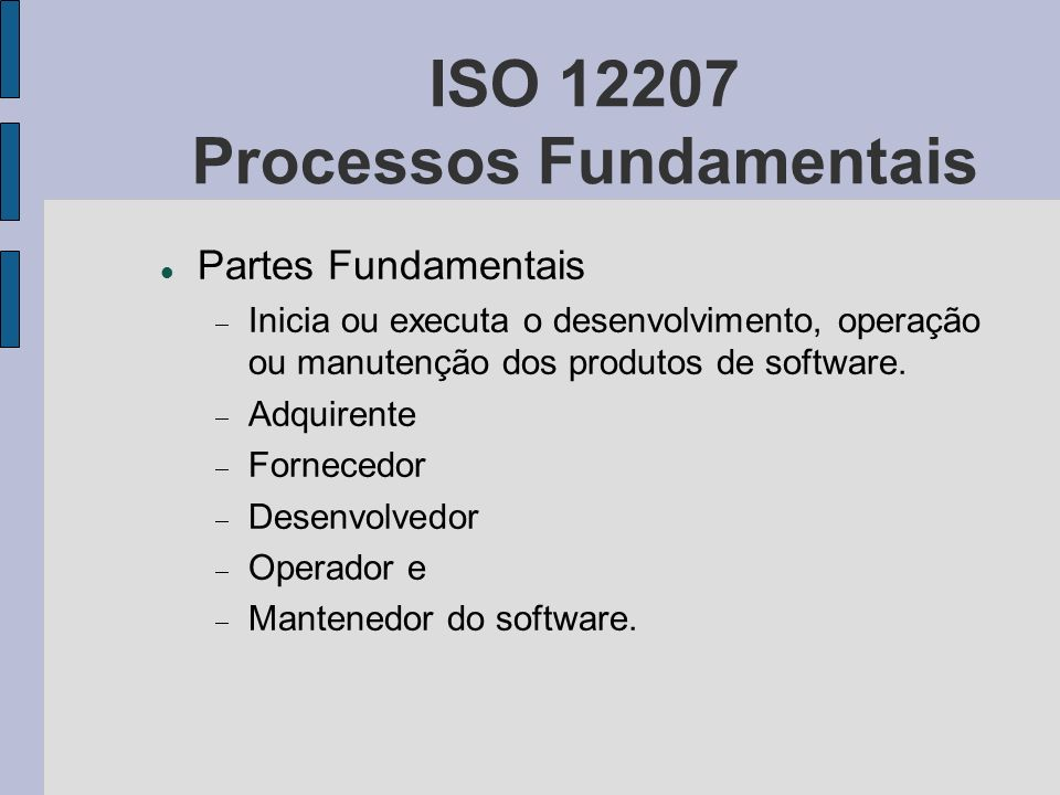 ISO Processos Fundamentais