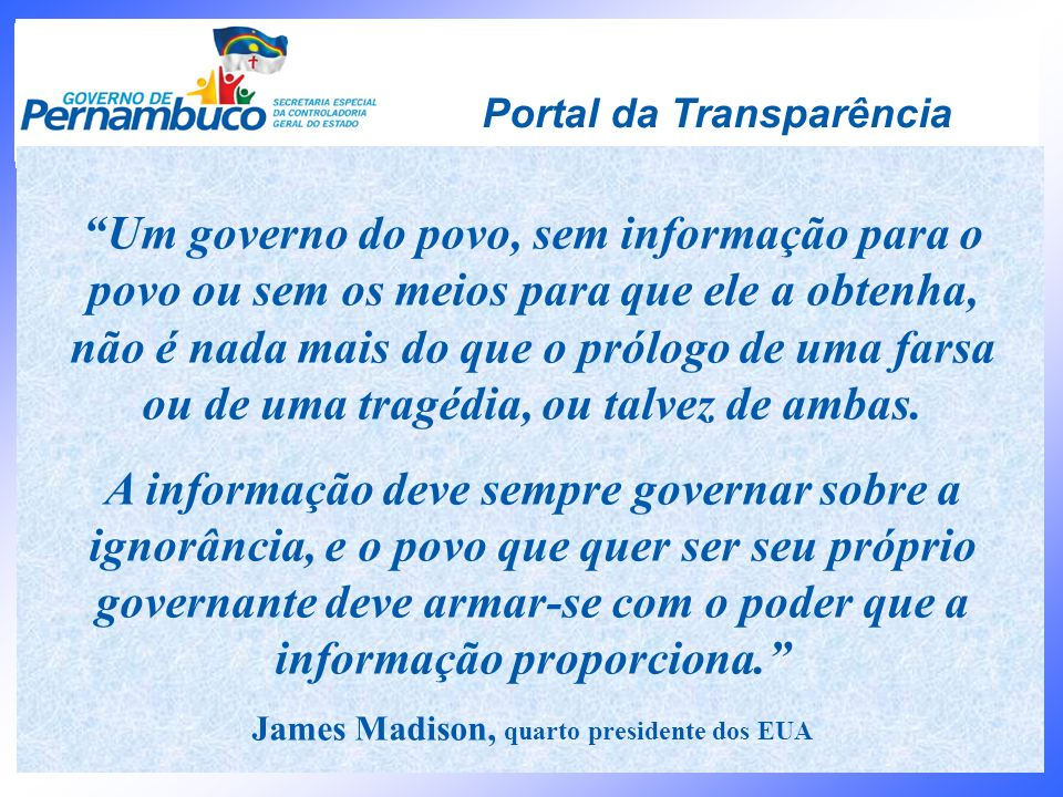 James Madison, quarto presidente dos EUA