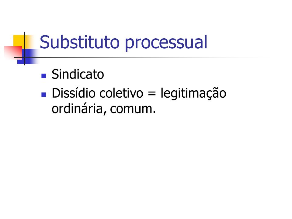 Substituto processual