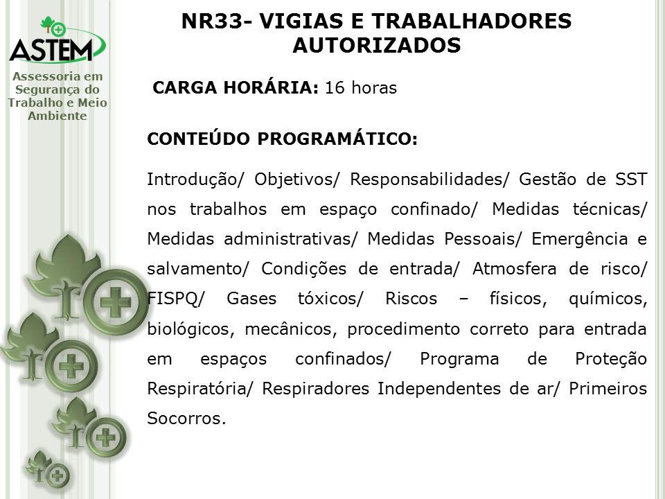 TREINAMENTOS MINISTRADOS PELA ASTEM - ppt video online carregar d9d0e0e810