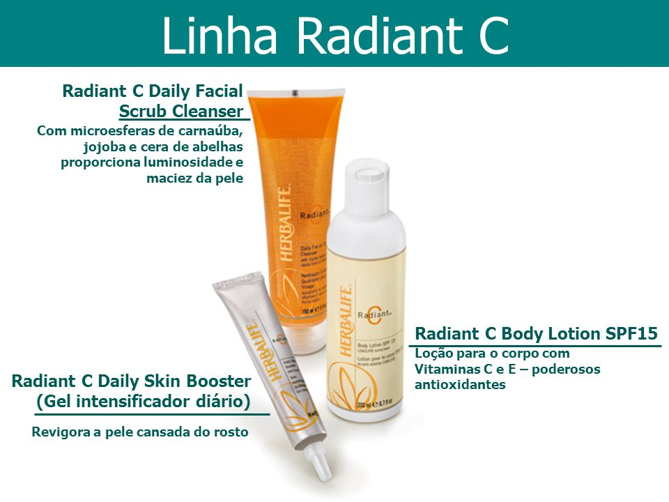 Linha Radiant C Radiant C Daily Facial Scrub Cleanser