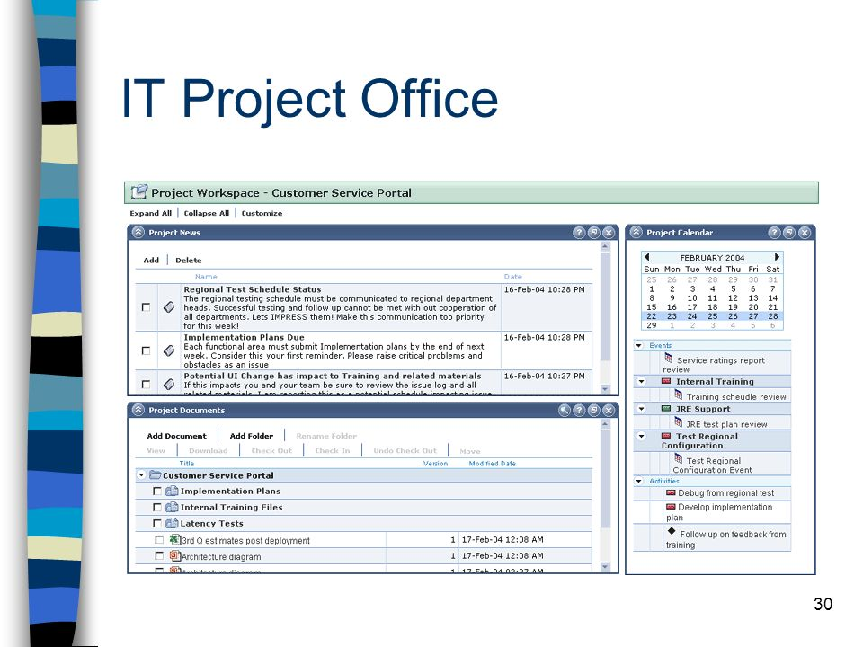 IT Project Office
