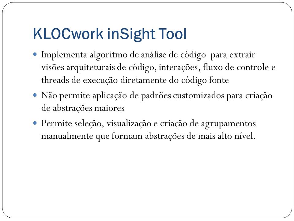 KLOCwork inSight Tool