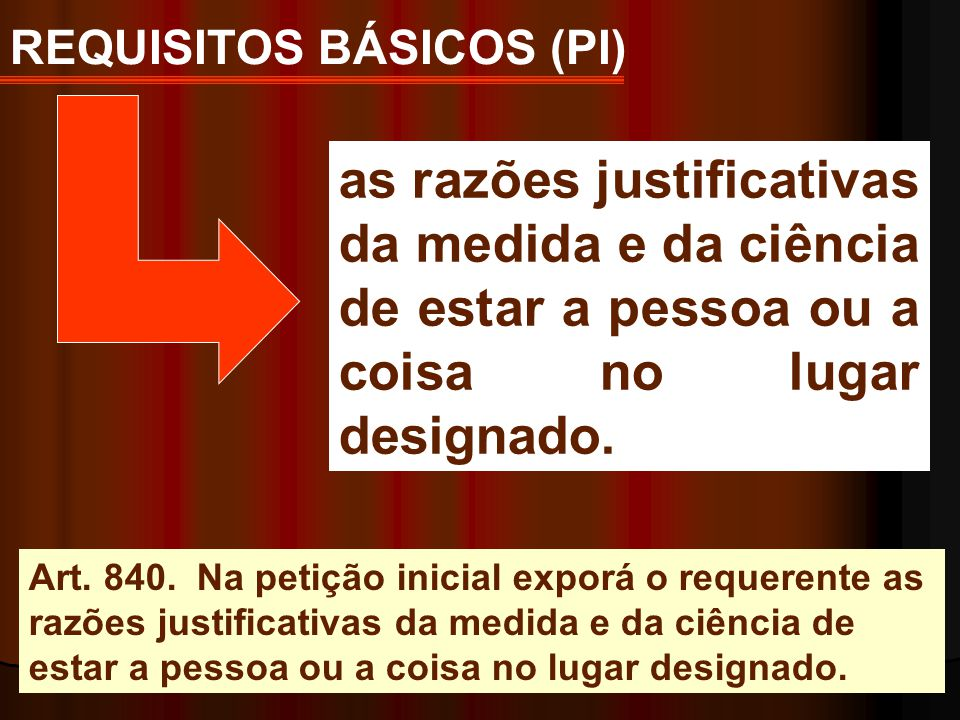 REQUISITOS BÁSICOS (PI)