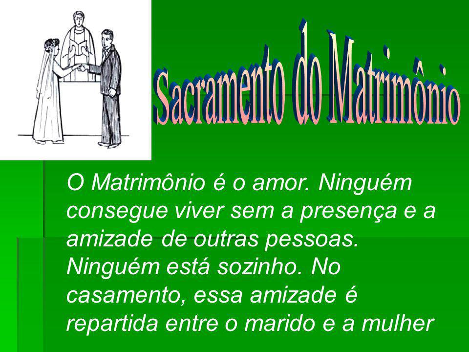 Sacramento do Matrimônio