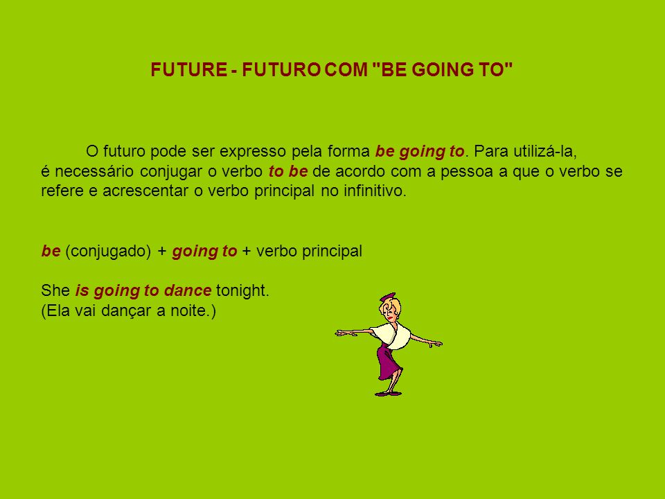 FUTURE - FUTURO COM BE GOING TO