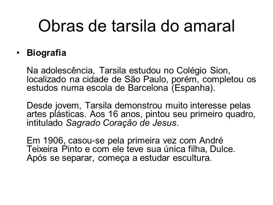 Tarsila do Amaral - Brasil Escola