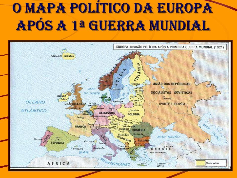 mapa politico da europa apos a segunda guerra mundial A PRIMEIRA GUERRA MUNDIAL ( )   ppt carregar mapa politico da europa apos a segunda guerra mundial