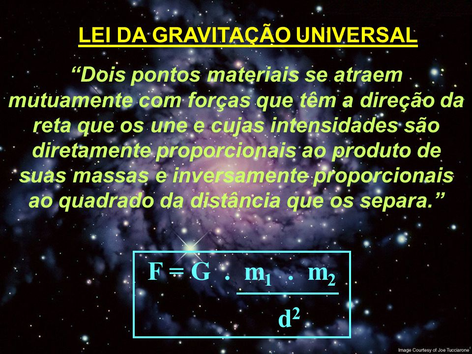 Lei gravitacional