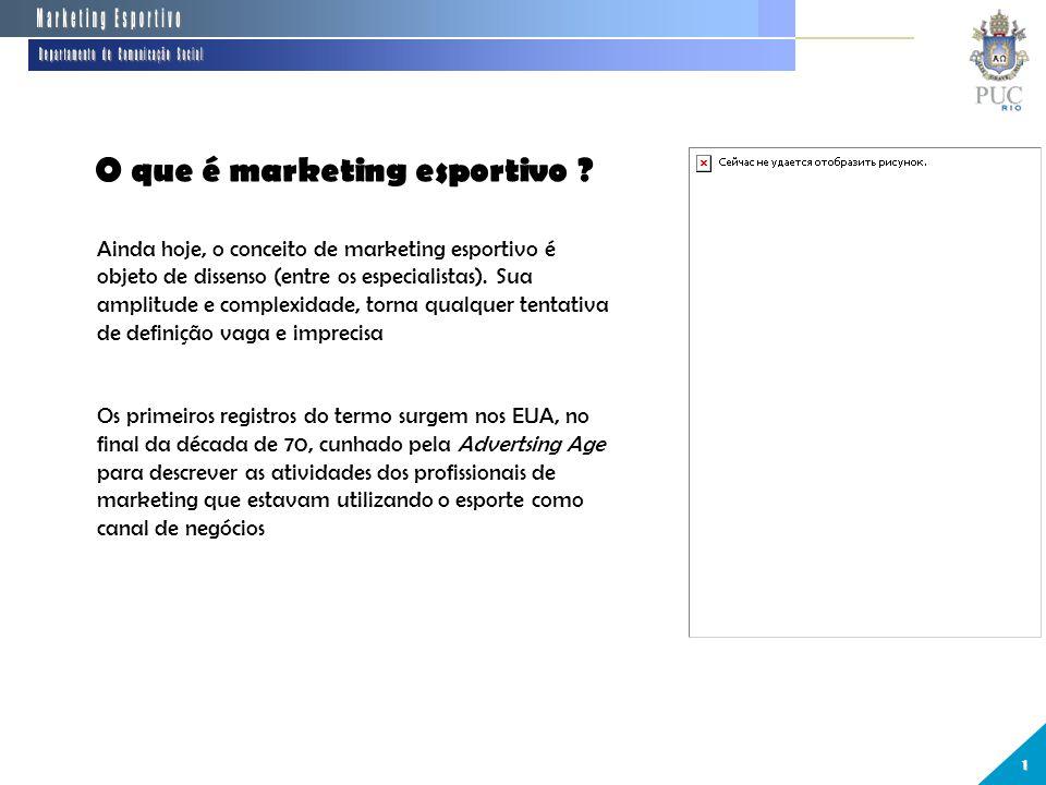 Fundamentos do marketing esportivo. 2 Departamento de Comunicação Social 851d15fd6ec1c