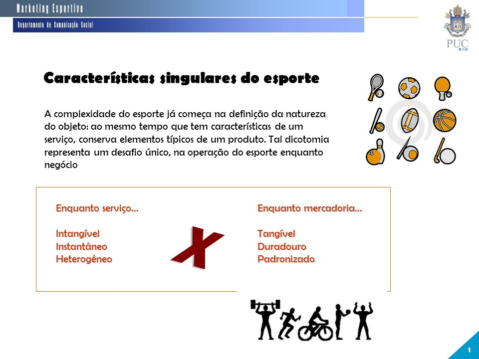 26eeeef0c2 7 Departamento de Comunicação Social Marketing Esportivo Departamento de  Comunicação Social Características ...
