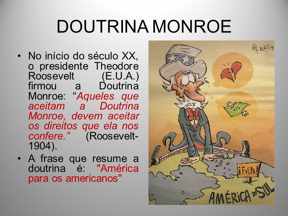 Resultado de imagem para doutrina Monroe
