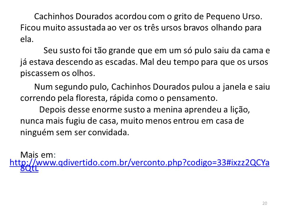 Made By Counterpoint Magazine Cachinhos Dourados Resumo