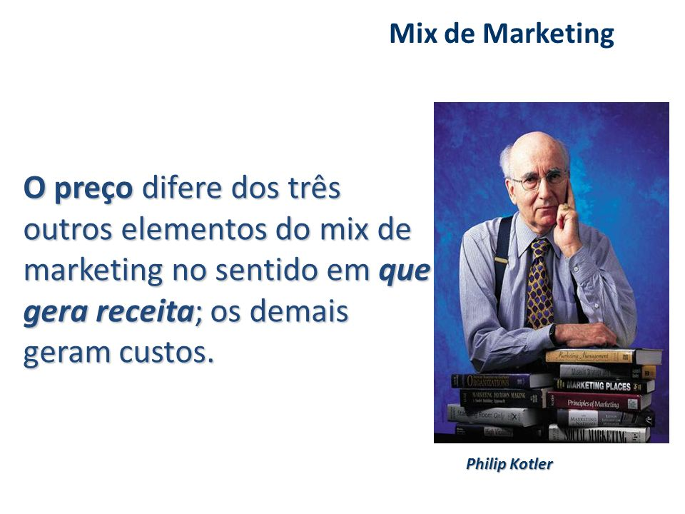Mix de Marketing Philip Kotler.