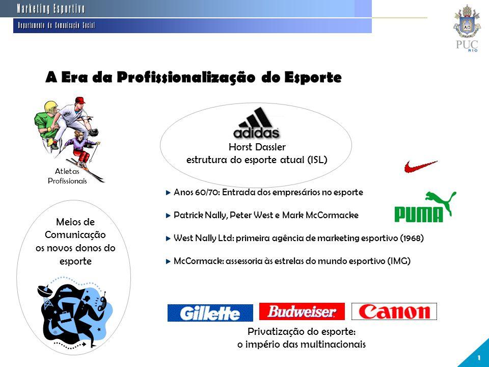 10 A Era da Profissionalização do Esporte Marketing Esportivo Departamento  ... 295f25820ecdc