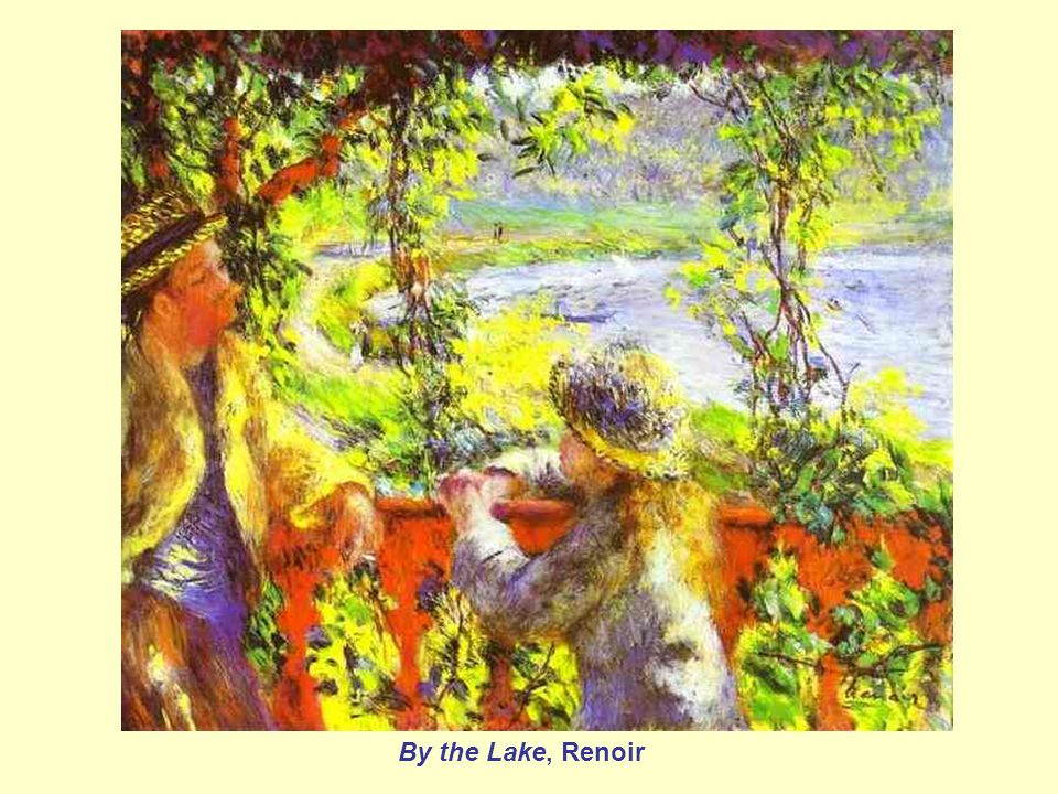 By the Lake, Renoir