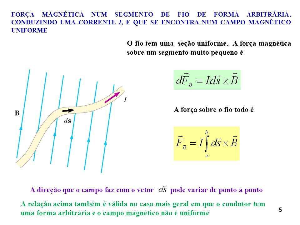 0d26e1daef8 5. Força magnética sobre um condutor com corrente elétrica - ppt ...