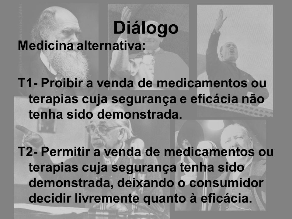 Diálogo Medicina alternativa: