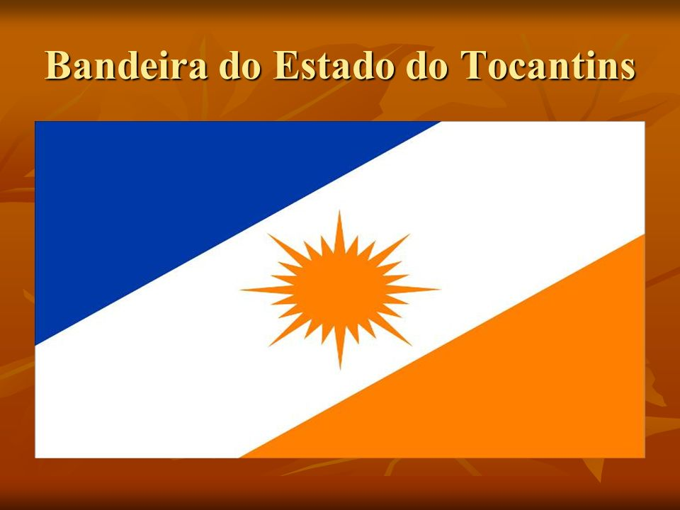 Bandeira do Estado do Tocantins