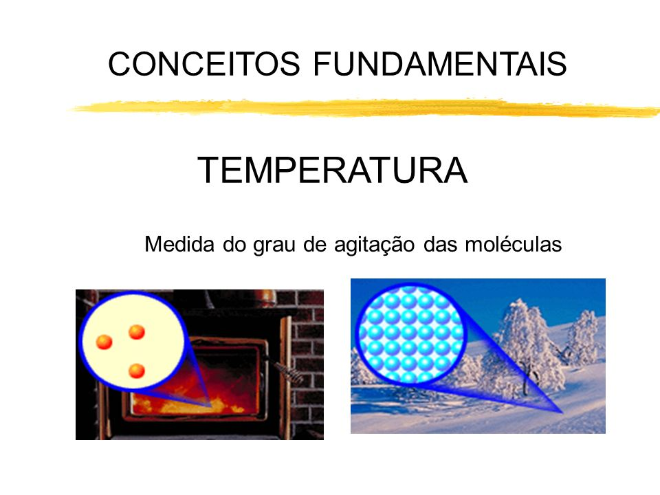 TEMPERATURA CONCEITOS FUNDAMENTAIS