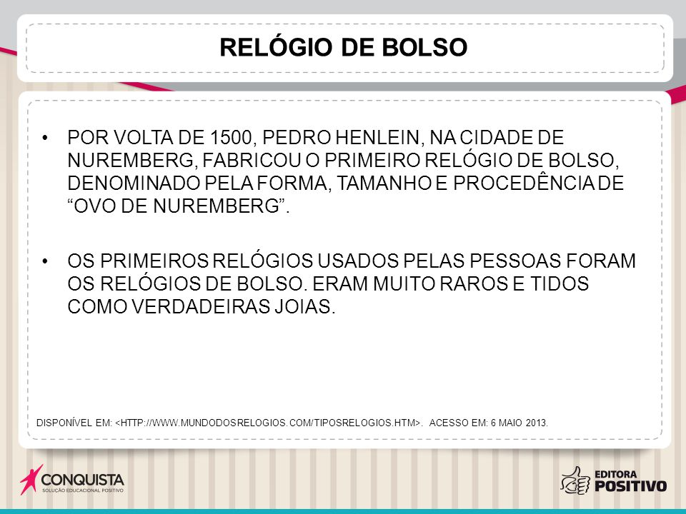 d3f0a2cb38b TIPOS DE RELÓGIOS. - ppt carregar