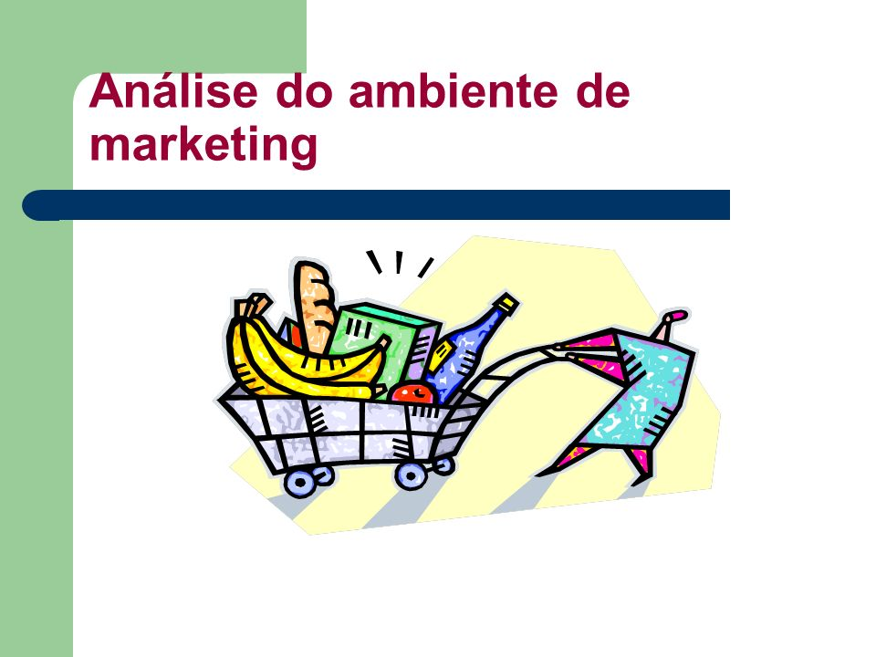 Análise do ambiente de marketing