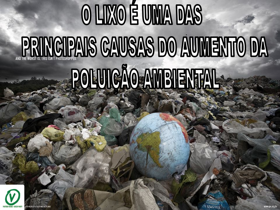 PRINCIPAIS CAUSAS DO AUMENTO DA