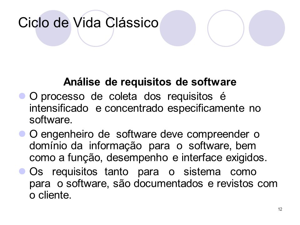 Análise de requisitos de software