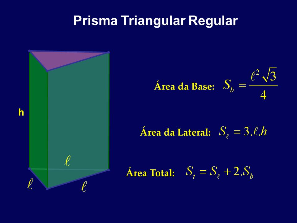 Prisma Triangular Regular