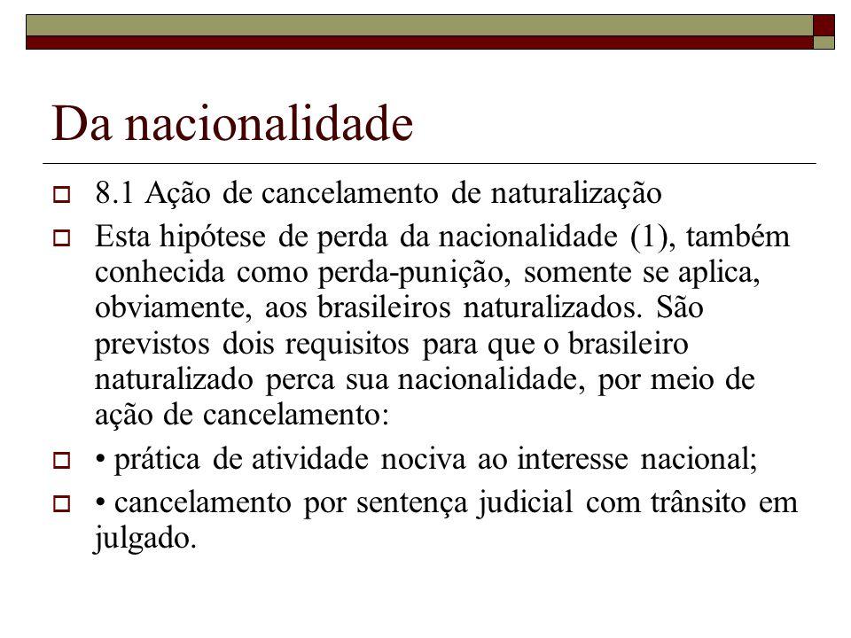 DIREITO CONSTITUCIONAL Da nacionalidade - ppt carregar de4693829c980
