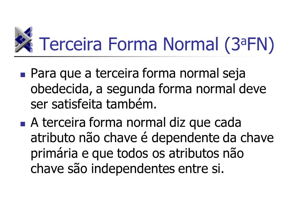 Terceira Forma Normal (3aFN)
