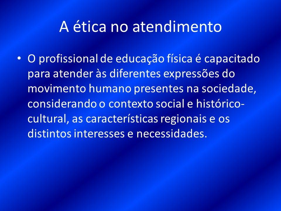 14 A ética no atendimento O profissional de educação física ... 426acc8c07716