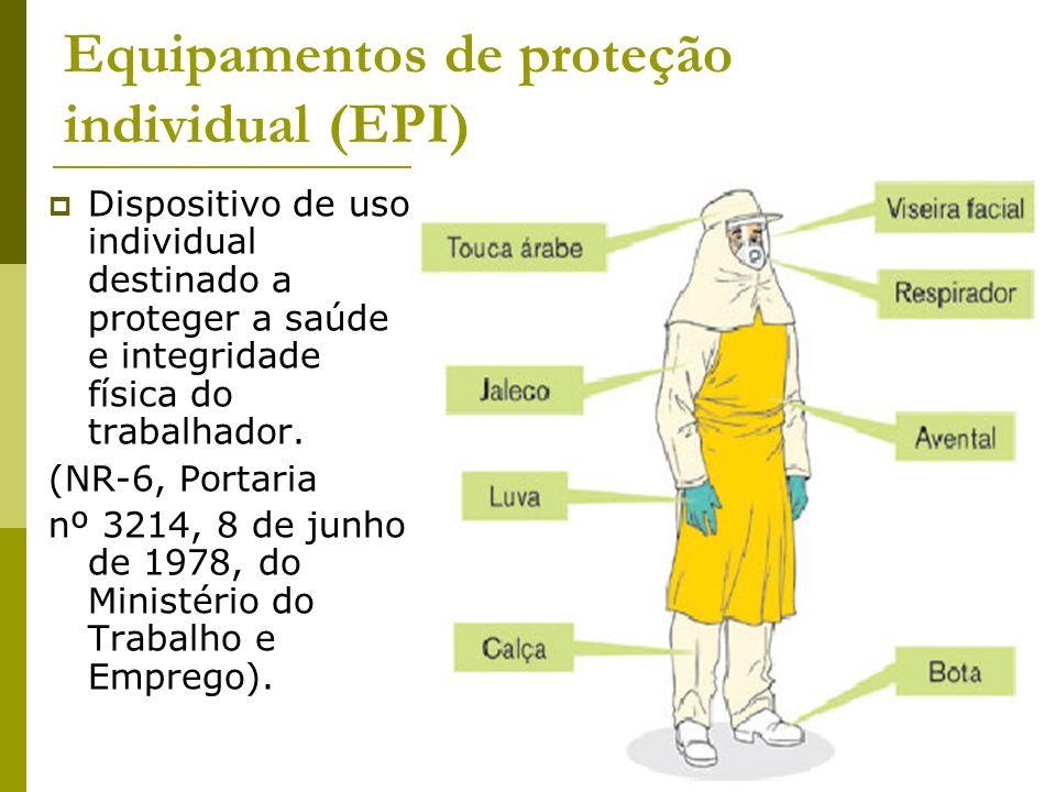 Equipamentos de proteção individual (EPI) - ppt carregar f8b255f77a