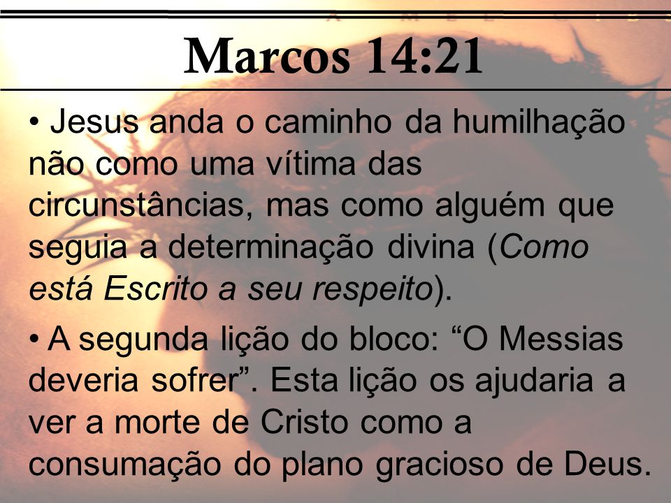 Marcos 14:21