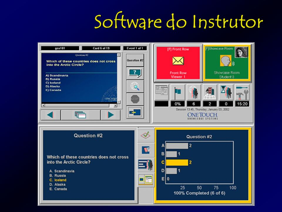 Software do Instrutor