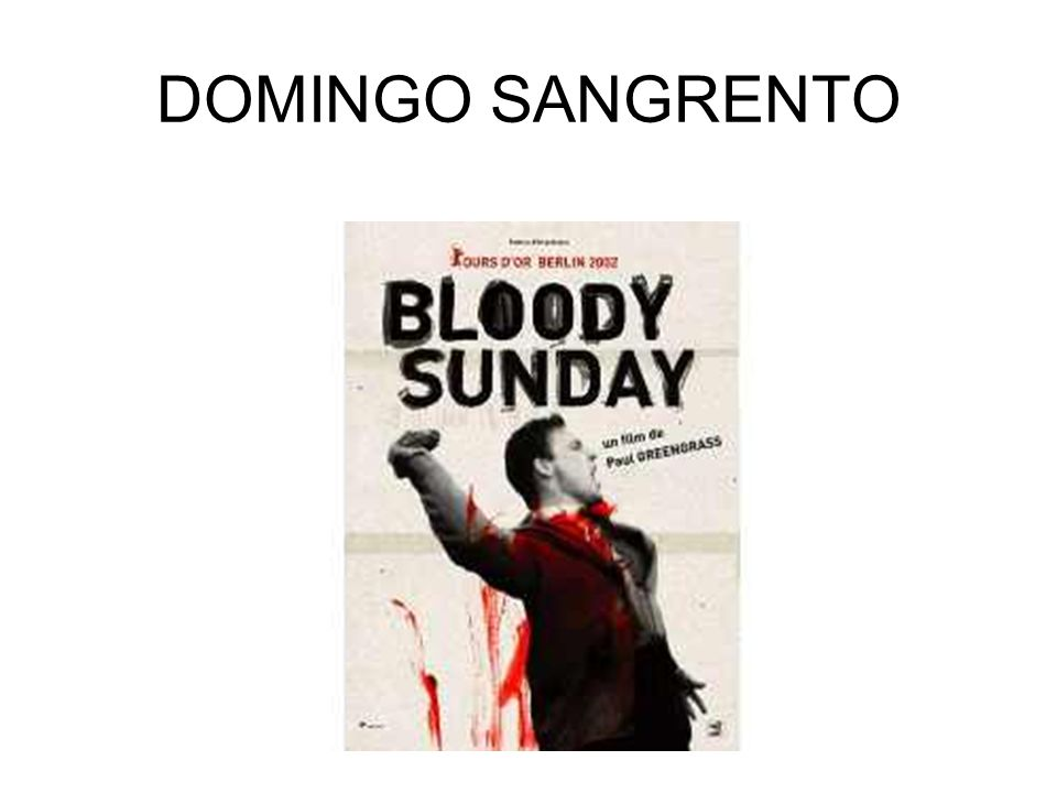 DOMINGO SANGRENTO