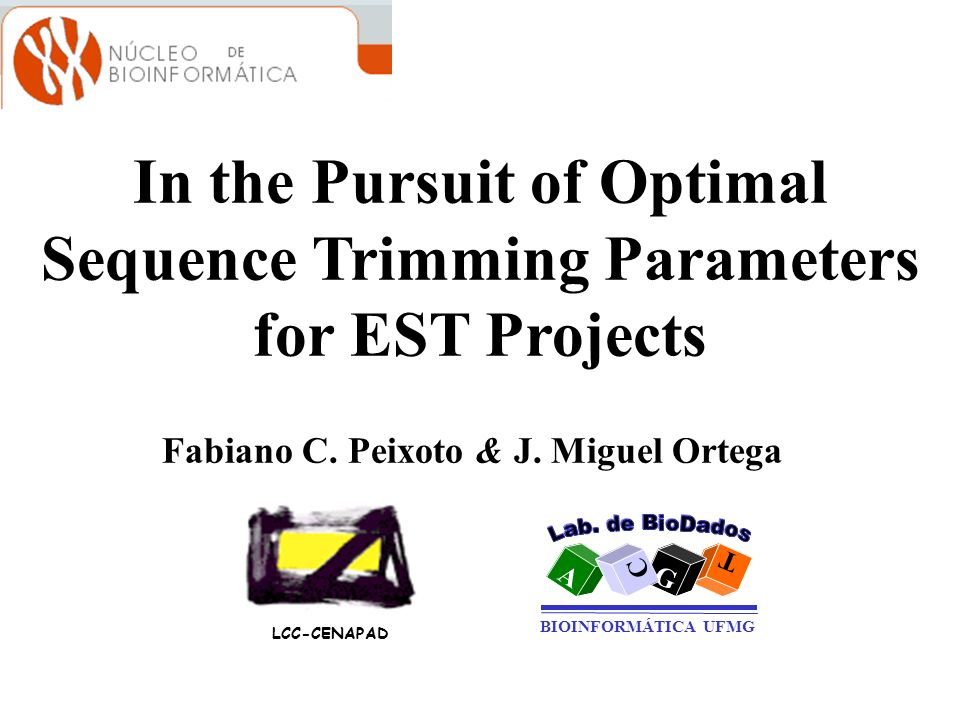 In the Pursuit of Optimal Sequence Trimming Parameters for EST Projects
